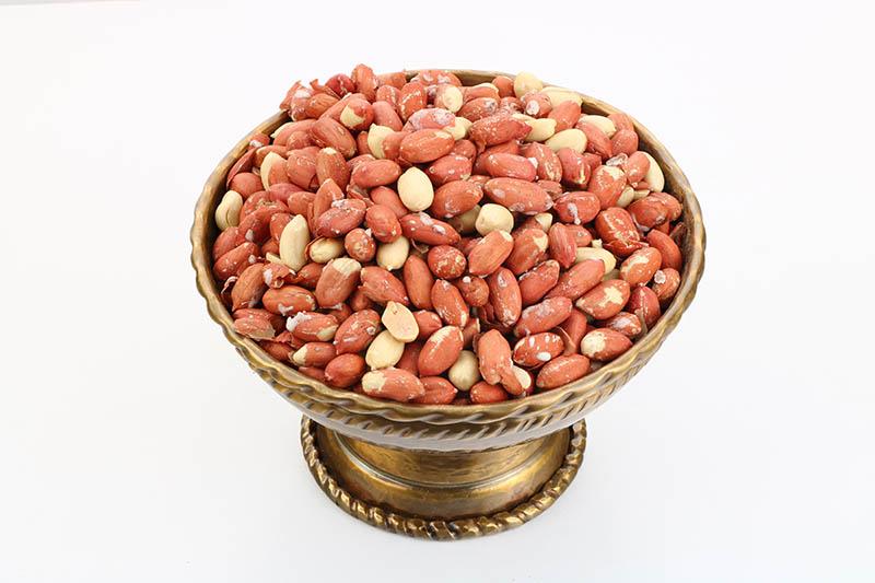 قیمت بادام زمینی خام