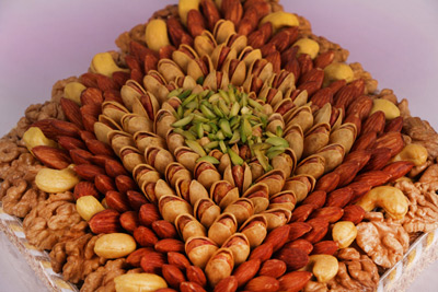 مرکز فروش آجیل عید در نوع هفت مغز