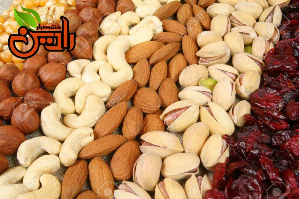 فروش عمده آجیل  عید از مجموعه رادین